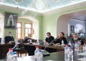 В Московской духовной академии прошло заседание Ученого совета и общее собрание профессорско-преподавательской корпорации