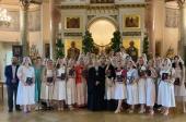 В Свято-Димитриевском училище сестер милосердия в Москве состоялось вручение дипломов выпускникам