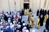 В Горненском монастыре в Иерусалиме отметили престольный праздник