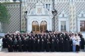 В Московской духовной академии состоялся выпускной акт
