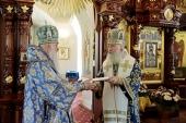 Председатель Синодального отдела по монастырям и монашеству возглавил Литургию в Екатерининском монастыре г. Видное, получившем ставропигиальный статус