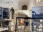 На Соловках продолжается монтаж новой музейной экспозиции, посвященной исповедникам веры