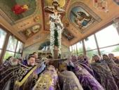 На Винничине состоялся крестный ход при участии архиереев трех епархий