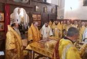 Архиерей Украинской Православной Церкви принял участие в освящении престола в кафедральном соборе Праги