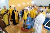 Патриарший экзарх всея Беларуси посетил Республиканский научно-практический центр детской онкологии, гематологии и иммунологии в Боровлянах