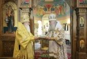 Председатель Синодального отдела по монастырям и монашеству возглавил Литургию в Высоцком монастыре г. Серпухова, получившем ставропигиальный статус