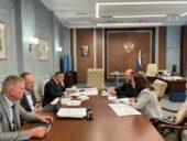 Состоялась встреча председателя Финансово-хозяйственного управления с министром строительства и жилищно-коммунального хозяйства России