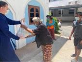 Прихожане Вознесенского храма на Самуи (Таиланд) оказывают продуктовую помощь жителям острова