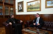 Председатель Отдела внешних церковных связей встретился с представителем фонда Kirche in Not