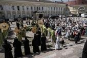 Глава Тверской митрополии возглавил торжества по случаю 30-летия возрождения Нило-Столобенской пустыни