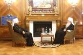 Председатель Отдела внешних церковных связей встретился с Предстоятелем Православной Церкви в Америке