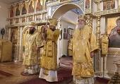 Председатель Отдела внешних церковных связей и Первоиерарх РПЦЗ совершили Литургию в Синодальной резиденции Русской Зарубежной Церкви в Нью-Йорке