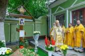 На 40-й день по кончине архиепископа Чимкентского Елевферия глава Казахстанского митрополичьего округа совершил панихиду