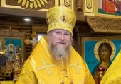 Патриаршее поздравление архиепископу Анадырскому Ипатию с 55-летием со дня рождения