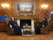 Председатель ОВЦС встретился с президентом Свято-Владимирской семинарии в Нью-Йорке