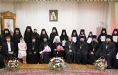 В Мордовской митрополии состоялся выпуск слушателей курсов базовой подготовки в области богословия для монашествующих