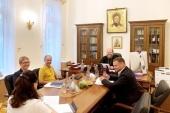 Председатель Финансово-хозяйственного управления встретился с представителями ПАО «Россети»