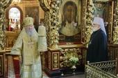 В Москве молитвенно отметили день тезоименитства митрополита Ювеналия (Пояркова)