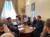 В епархиальном управлении обсудили работу радиостанции «Вера» в пределах Ставропольской епархии
