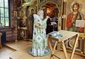 В день памяти преподобного Сергия Радонежского Святейший Патриарх Кирилл совершил Божественную литургию