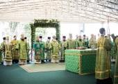 В Троице-Сергиевой лавре молитвенно почтили память преподобного Сергия Радонежского