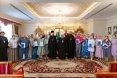 Глава Казахстанского митрополичьего округа возглавил выпускной акт богословско-миссионерского факультета Алма-Атинской духовной семинарии