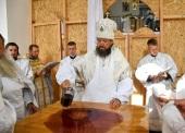 В епархиях Украинской Православной Церкви строят и освящают новые храмы