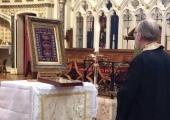 Прихожане Николаевского храма в Оксфорде поклонились мощам святых неразделенной Церкви