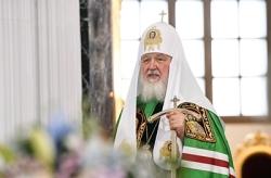 Слово Святейшего Патриарха Кирилла после Литургии в соборе Казанской иконы Божией Матери г. Казани