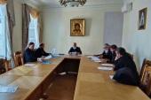 Состоялось заседание Управляющего совета Благотворительного фонда Московской епархии по восстановлению порушенных святынь