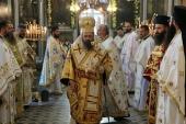 Представитель Русской Церкви принял участие в престольном празднике Илиинского храма г. Софии