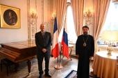 Митрополит Волоколамский Иларион встретился с послом Франции в России
