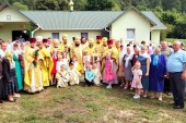 В Ровенской области освятили новый храм Украинской Православной Церкви, построенный вместо захваченного раскольниками