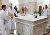 Митрополит Курский Герман освятил храм благоверного князя Александра Невского г. Обояни Курской области