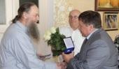 Архиепископу Новогрудскому Гурию вручена награда Федерации профсоюза Республики Беларусь «Знак Пашаны»