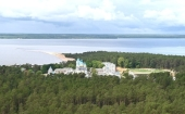 Коневский Рождество-Богородичный монастырь Выборгской епархии посетил Президент России
