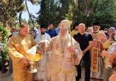 На подворье Русской духовной миссии в Хайфе отметили день памяти пророка Илии
