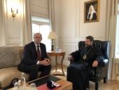 Митрополит Волоколамский Иларион встретился с и.о. ректора Национального исследовательского ядерного университета «МИФИ»