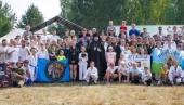 В окрестностях Дивеева открылся VIII Международный военно-спортивный фестиваль «Православный воин»