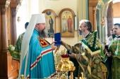 День памяти преподобного Германа Аляскинского молитвенно отметили на московском подворье Православной Церкви в Америке