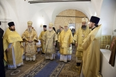 Архиереи Сербской Православной Церкви приняли участие в торжествах в честь 20-летия прославления праведного воина Феодора Ушакова