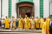 В Тамбове прошли торжества по случаю дня памяти святителя Питирима и праздника Собора Тамбовских святых