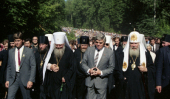 Дивеевский монастырь помог вернуть Дмитрий Лихачев