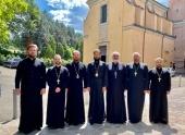 Руководитель Управления Московской Патриархии по зарубежным учреждениям посетил Болонью