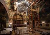 В Сретенском ставропигиальном монастыре восстановят уникальные фрески начала XVIII века