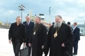 Управляющий делами Московской Патриархии посетил Архангельскую епархию