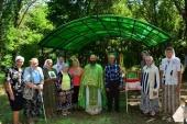 В отселенной белорусской деревне Белая Сорока, находящейся в 11 км от Чернобыльской АЭС, совершена Божественная литургия