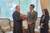 Секретарь Таиландской епархии встретился с послом Таиланда в России