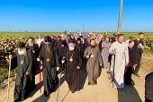 Тысячи верующих Украинской Православной Церкви совершили крестный ход в Иосафатову долину в Винницкой епархии