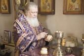 Патриаршее поздравление архиепископу Филарету (Карагодину) с 75-летием со дня рождения